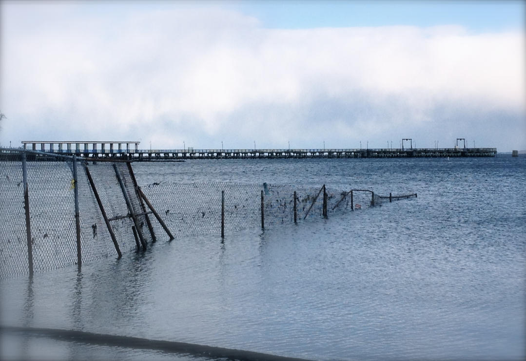 Playland Dock/Atlantic Ocean-Rye, NY by jonifan1