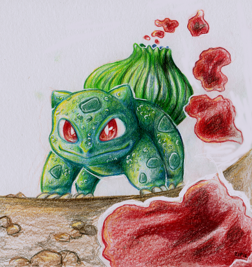 Bulbasaur by Zip-Zalp