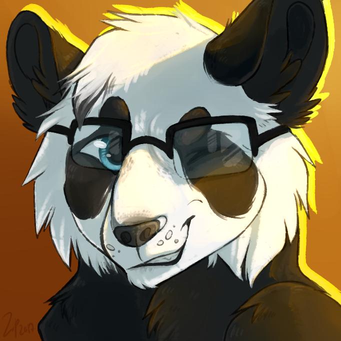 Panda (gift) by Zip-Zalp