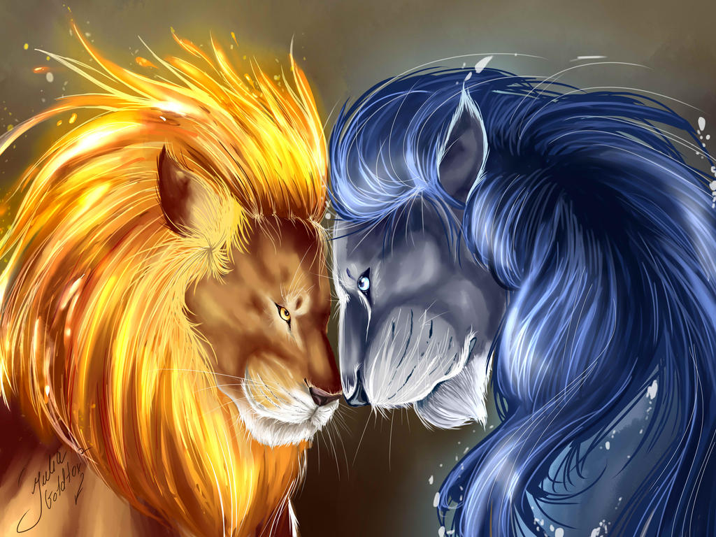 fire and ice by juliagoldfox on deviantart