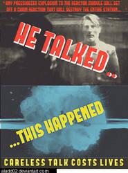 Star Wars World War II Propoganda: Careless Talk