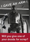 Star Wars World War II Propoganda: Droids4Parts