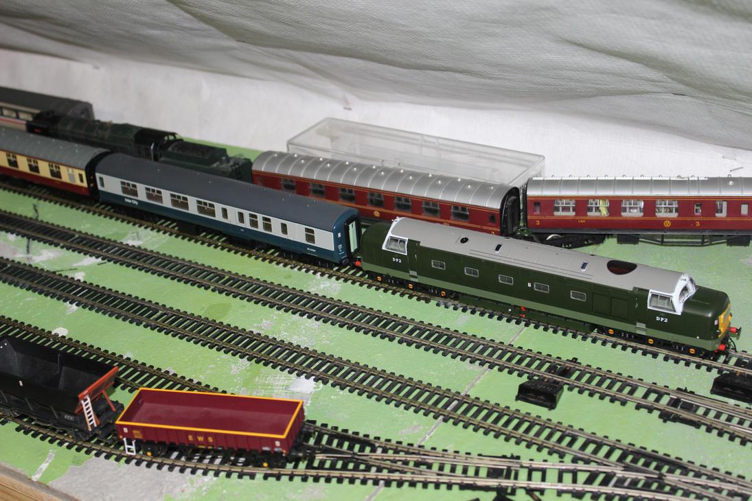 DP2 in charge of the railtour entering kingsbridge by adamphillip