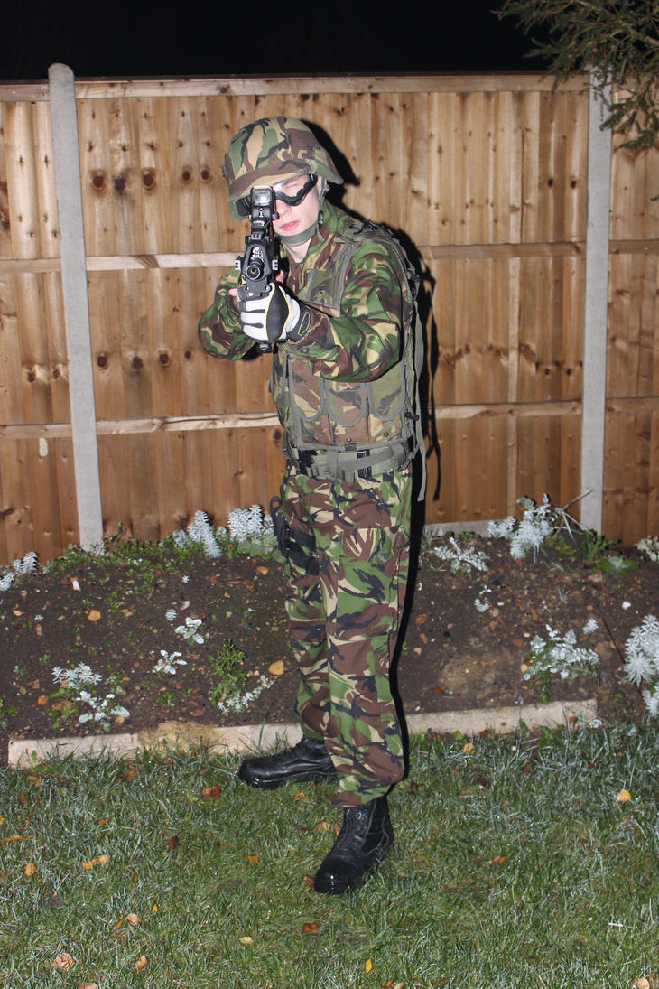 airsoft gear at night by adamphillip