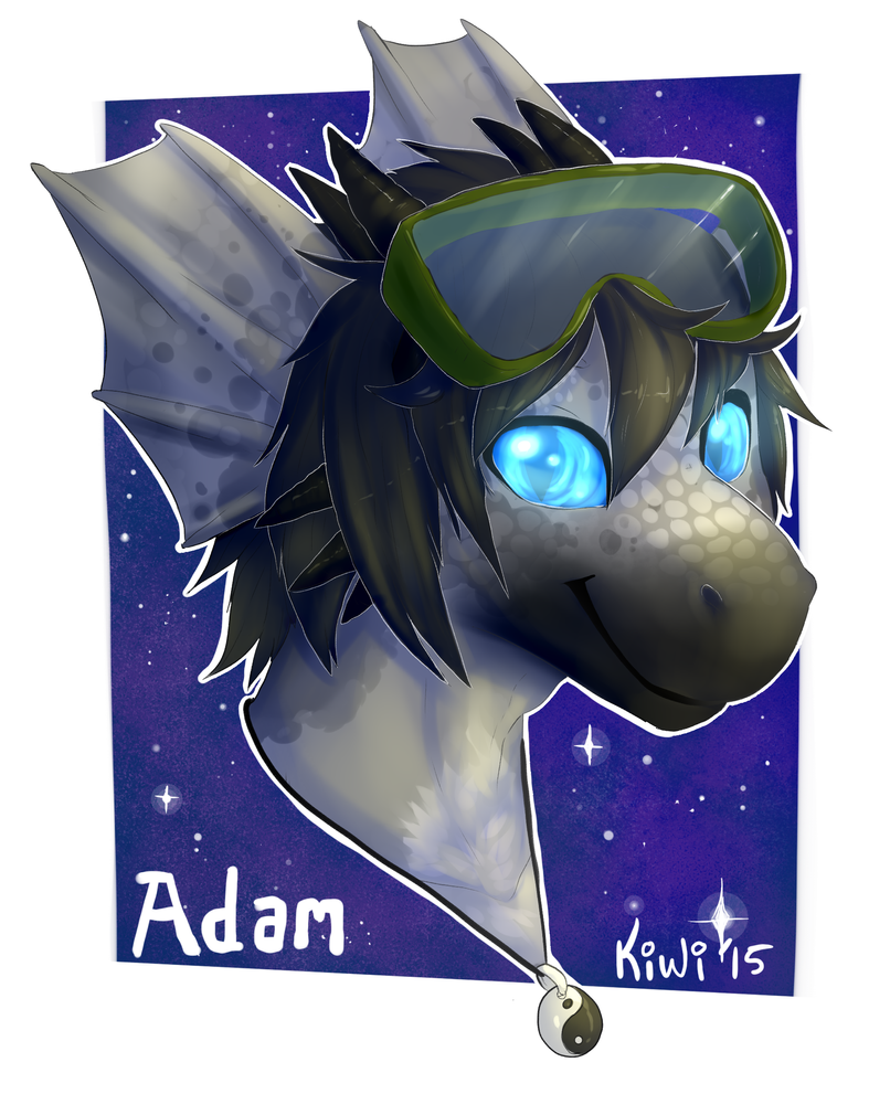 Adam Ark-Dweller, first ever commissioned image by adamphillip