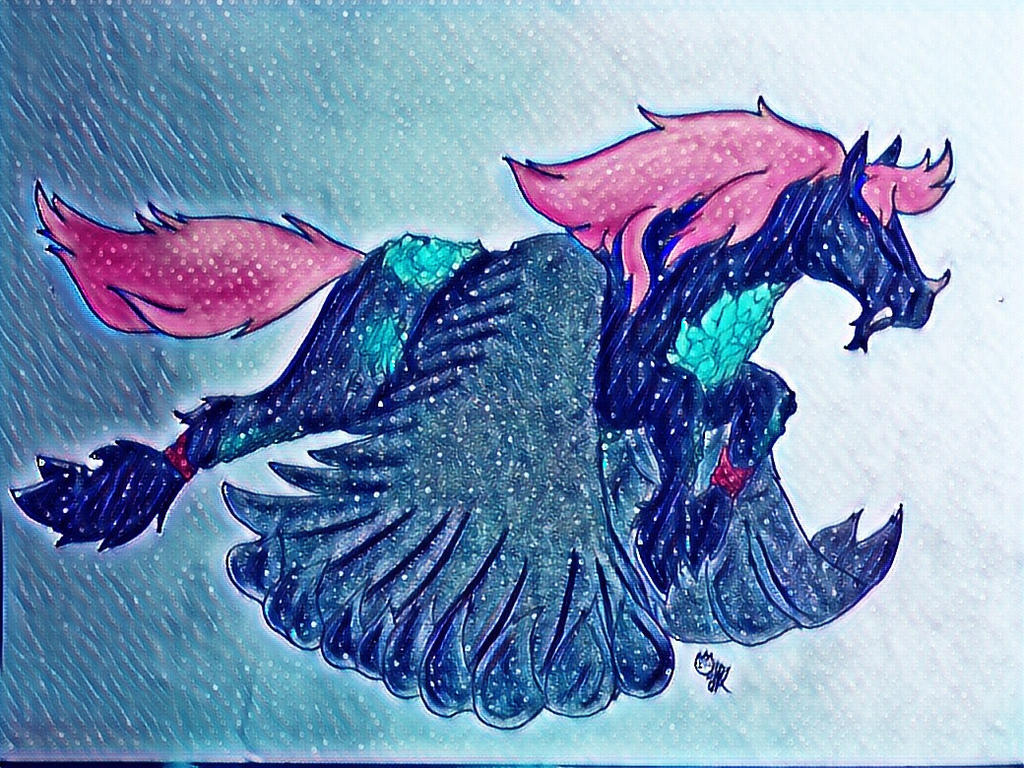 Demon Pegasus Contest Entry By Deathclawguardian On Deviantart