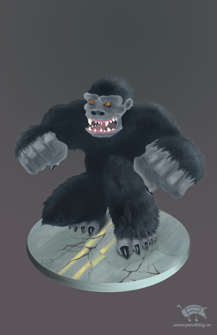 King Kong by jmsf-co
