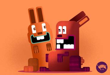 Monster bunnies