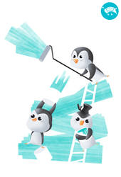 Penguin painting services