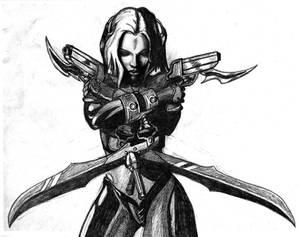 BloodRayne art Sketch