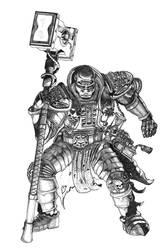 Inquisitor Toth Sketch