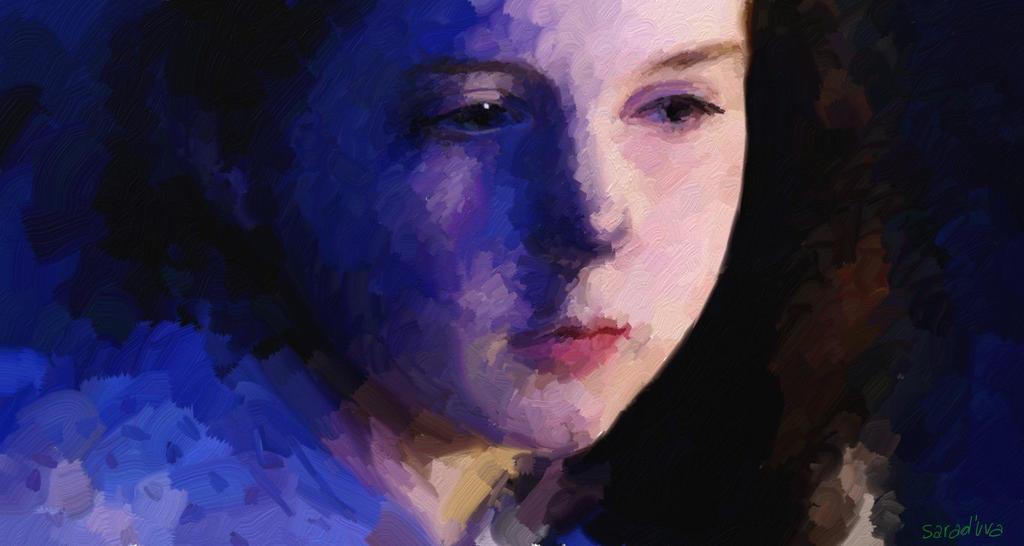 Little Amy Pond by BlueAsTheSun