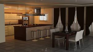Kitchen by jhukas