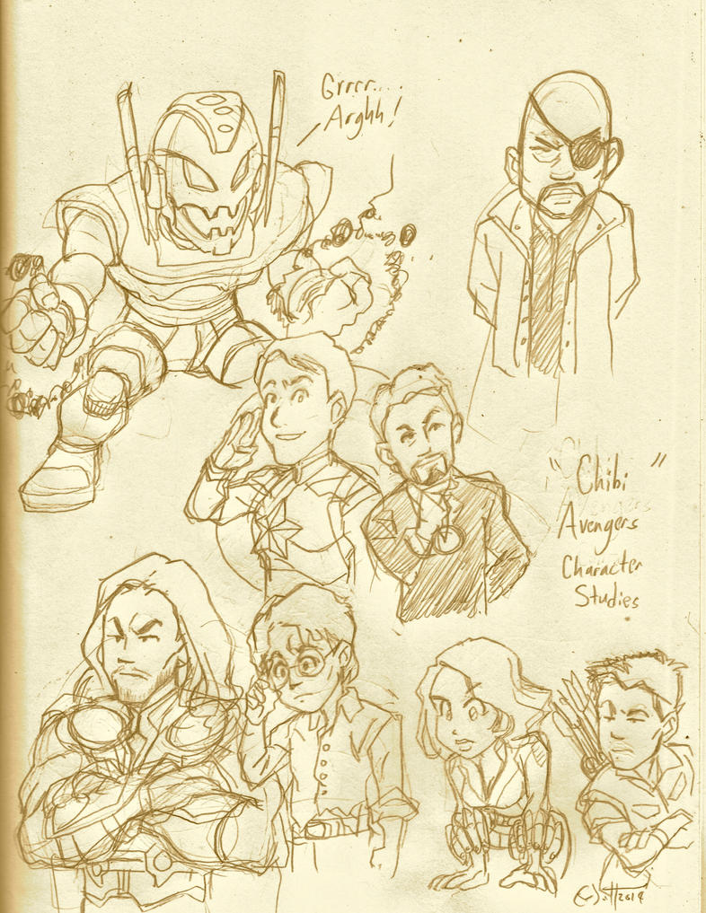 Assembling The Avengers by CD007