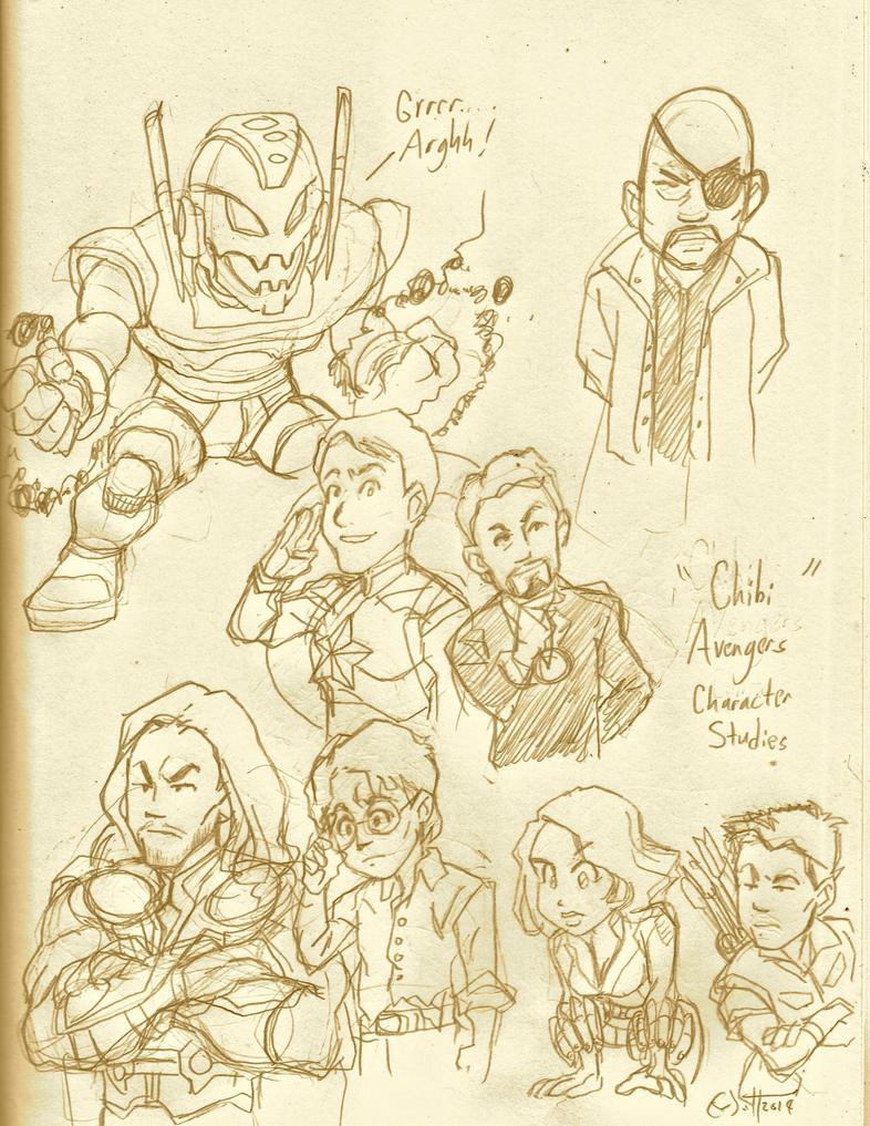 Assembling The Avengers by CD007