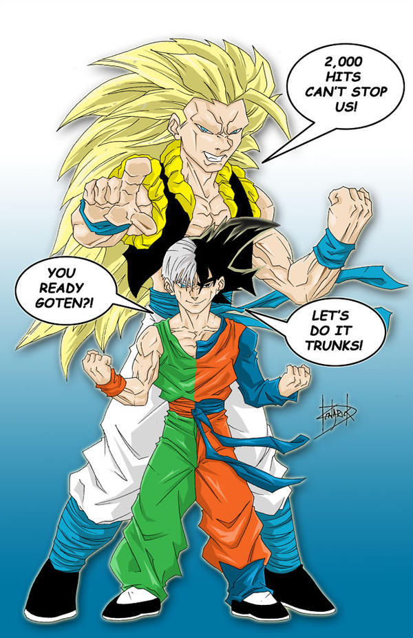 Fusion- Goten and Trunks by DamageArts on DeviantArt