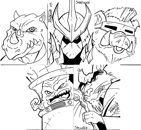 foot soldier tmnt coloring pages - photo#10