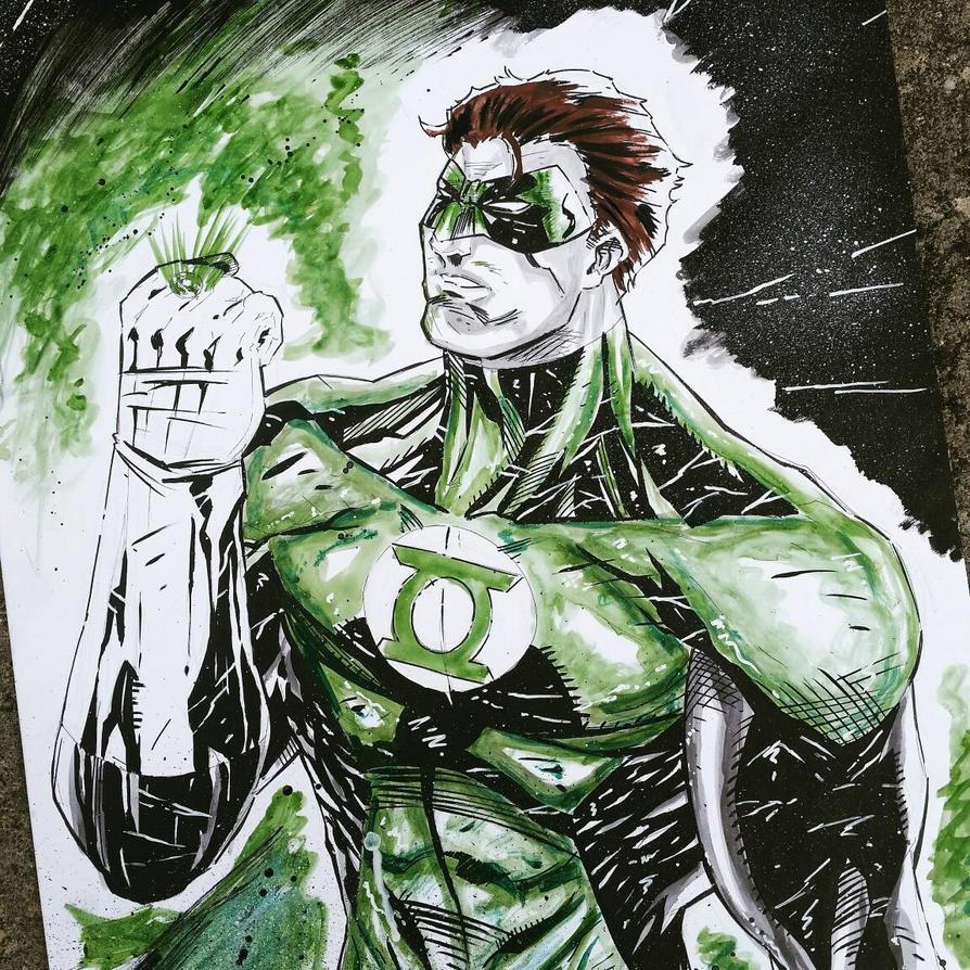 The Green Lantern by DamageArts