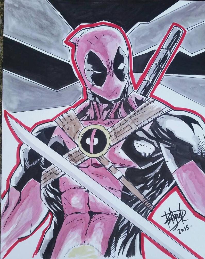 Deadpool by DamageArts