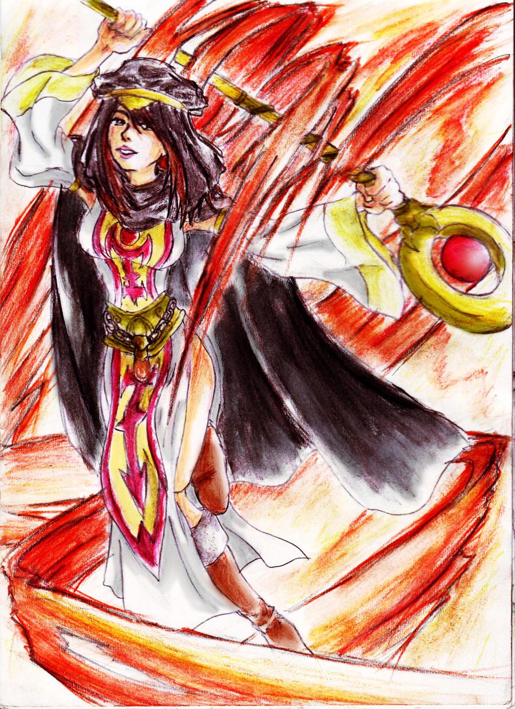 -FEZ: Sorceress- by Maou-MaoXD