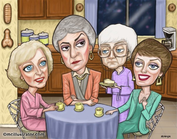Golden Girls By Mcillustrator