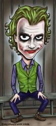 the joker by mcillustrator