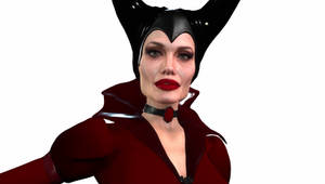 ANGELINA JOLIE as MALEFICENT 3D cG character