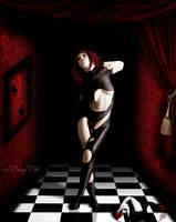 Lady Harlequin by BerryBlu