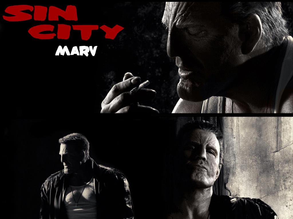 Marv - Sin City Fan Wallpaper by Shagohod88 on DeviantArt