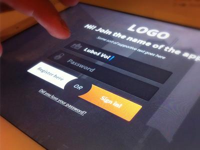 Login app (wip) by OtherPlanet