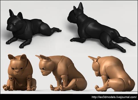 French-Bulldog-poses