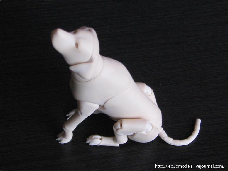 Dalmatian bjd 04 by leo3dmodels