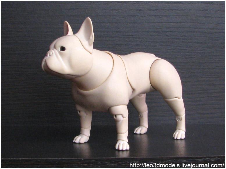 French bulldog by leo3dmodels