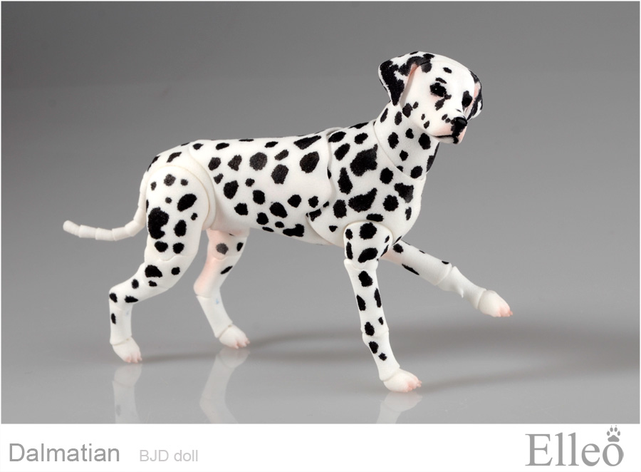 Dalmatian-bjd 01 by leo3dmodels