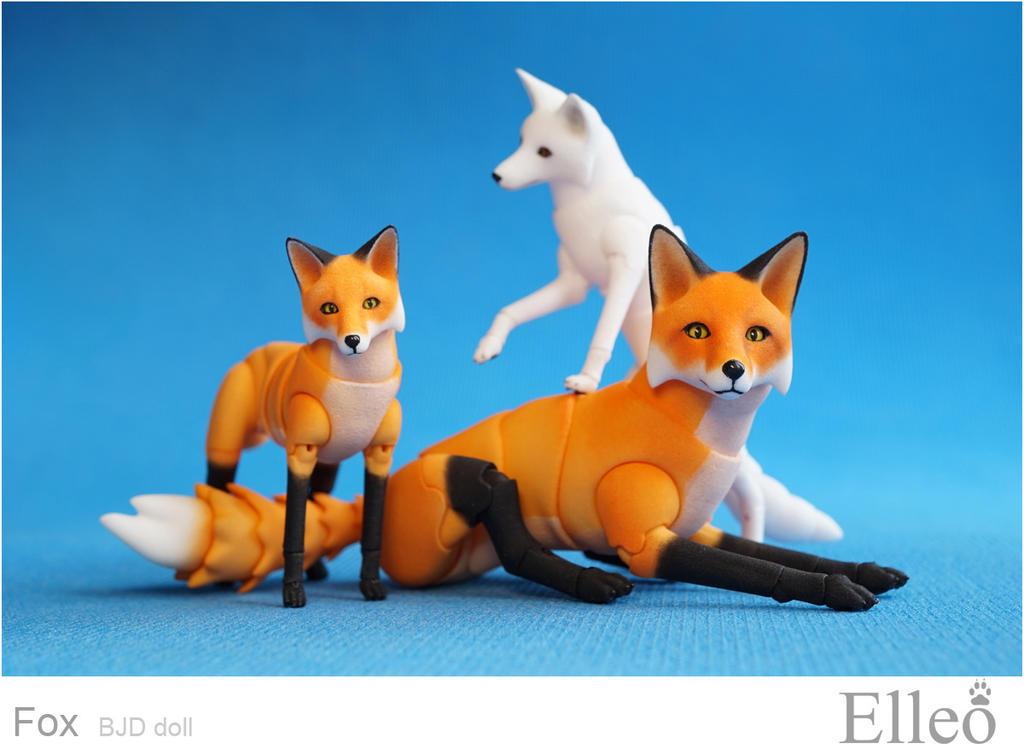 Fox 1 by leo3dmodels