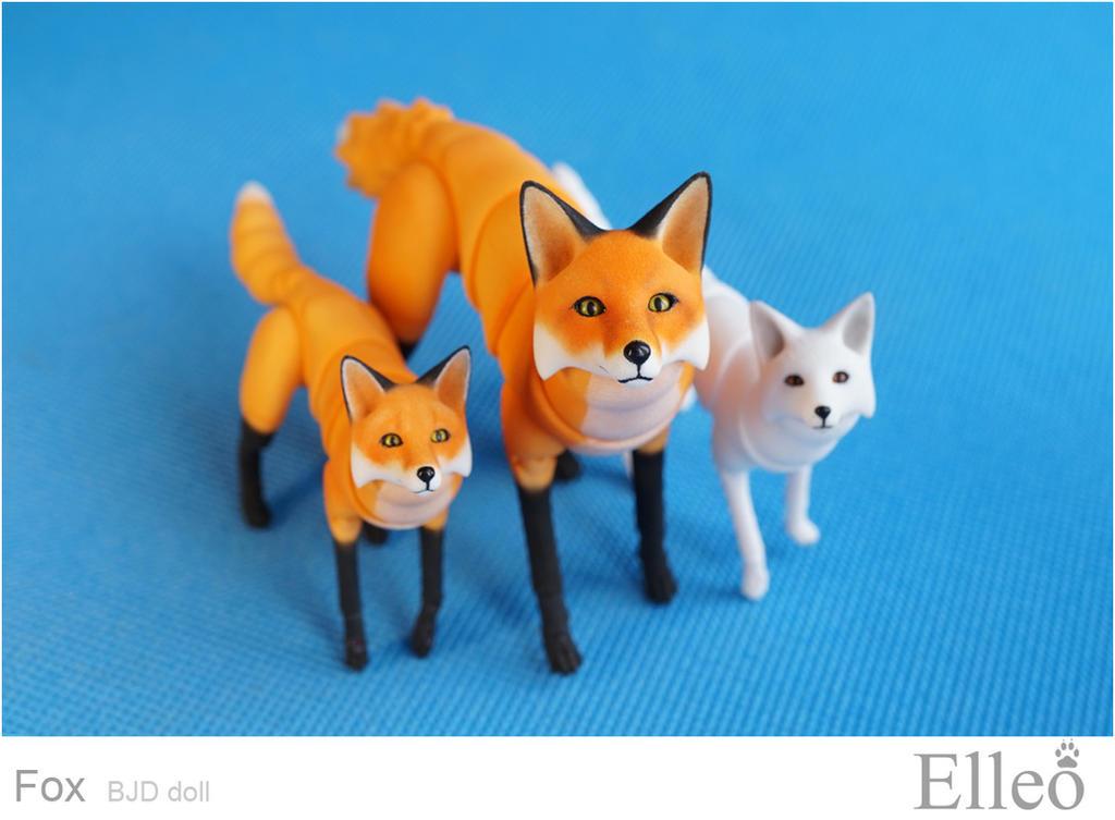 Fox bjd doll 02 by leo3dmodels