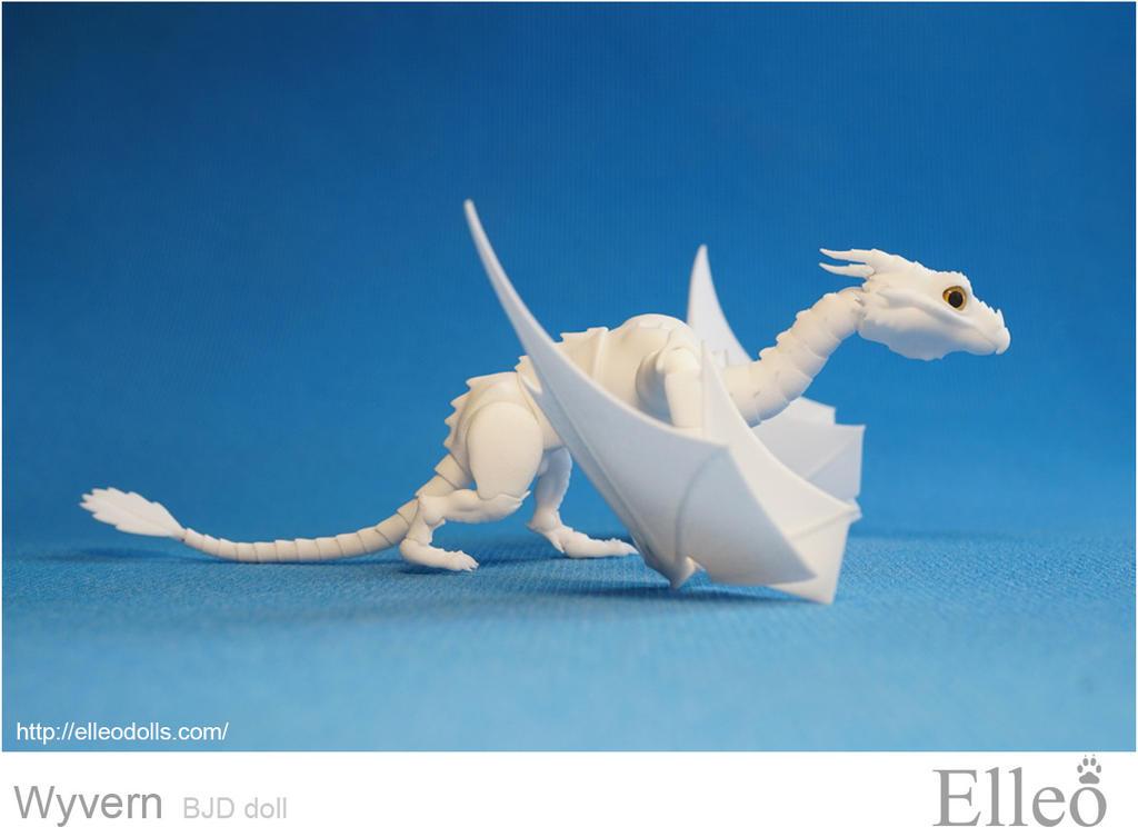 Wyvern bjd dragon 02 by leo3dmodels