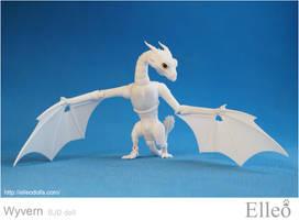 Wyvern bjd dragon 04 by leo3dmodels