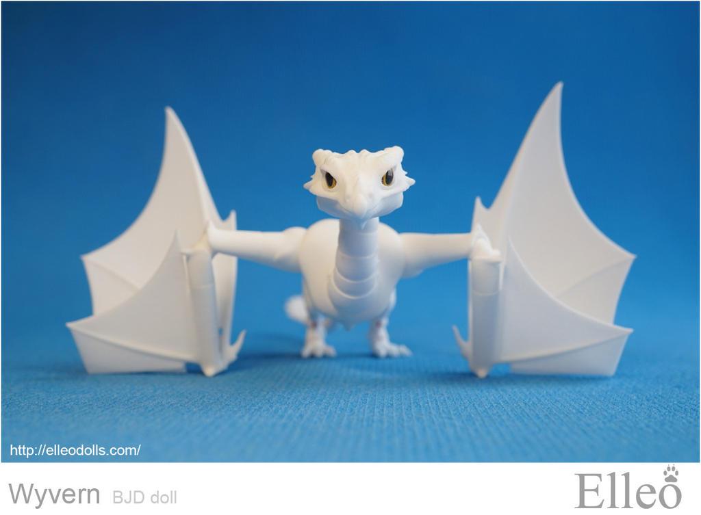 Wyvern bjd dragon 05 by leo3dmodels