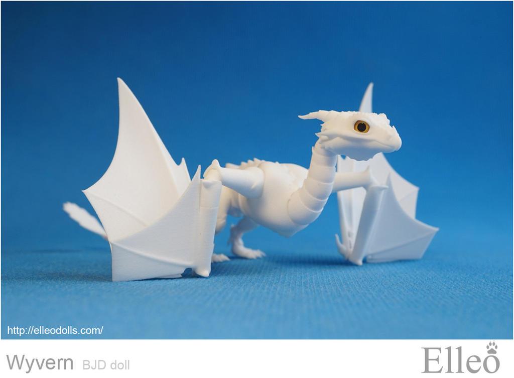 Wyvern bjd dragon 06 by leo3dmodels
