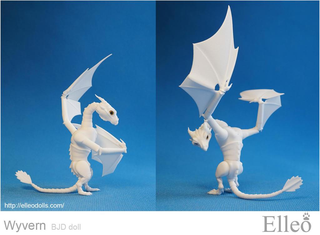 Wyvern bjd dragon 08 by leo3dmodels