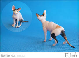 Sphinx bjd cat 04 by leo3dmodels