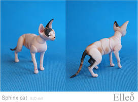 Sphinx bjd cat 05 by leo3dmodels