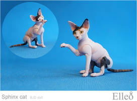 Sphinx bjd cat 09 by leo3dmodels