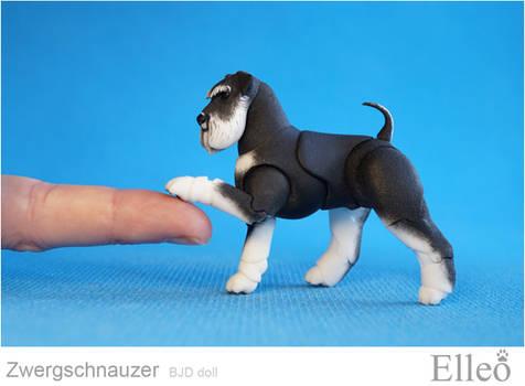 Zwergschnauzer Bjd Doll 05