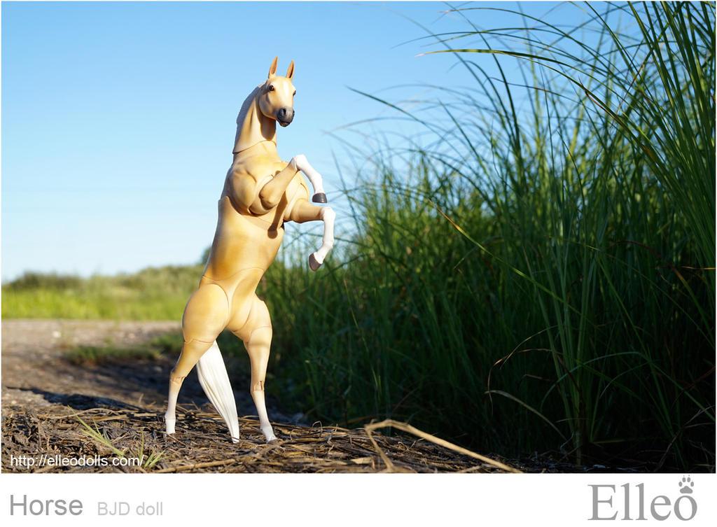Horse bjd doll 03 by leo3dmodels