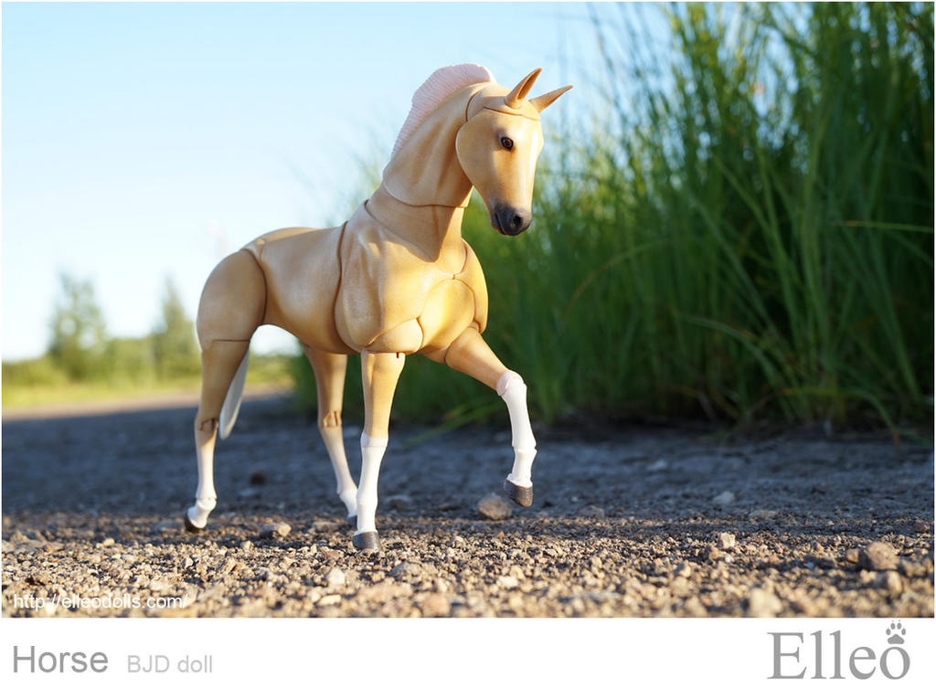 Horse bjd doll 09 by leo3dmodels