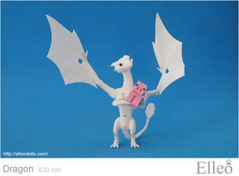 Dragon Bjd Doll 02 by leo3dmodels