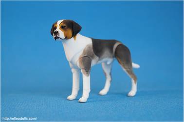 Bjd Dog Doll 01 by leo3dmodels