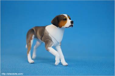 Bjd Dog Doll 02 by leo3dmodels